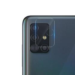 Samsung Galaxy A71 Linsskydd Härdat glas för Kamera Transparent