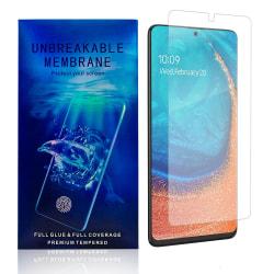 Samsung Galaxy A71 Skärmskydd - Heltäckande Transparent