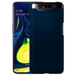 Samsung Galaxy A80 Silicone Case - Navy Blå Silikonskal Blå