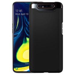Samsung Galaxy A80 Silicone Case - Svart Silikonskal Svart
