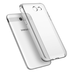 Samsung Galaxy J7 2017 Skal - Transparent TPU Transparent