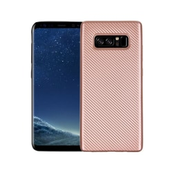 Samsung Galaxy Note 8 Carboon Fiber Case - Roseguld
