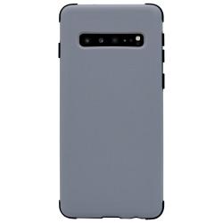 Samsung Galaxy S10 Skal - Extra Stöttåligt Defender Series Silver