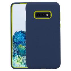 Samsung Galaxy S10E Skal - Extra Stöttåligt Defender Series Blue