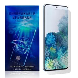 Samsung Galaxy S20 Skärmskydd - Heltäckande Transparent