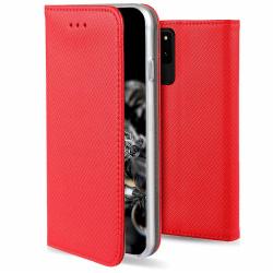 Samsung Galaxy S20 Fodral - Plånboksfodral Röd Röd