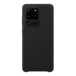 Samsung Galaxy S20 Ultra Silicone Case - Svart Silikonskal Svart