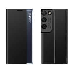 Samsung Galaxy S21 Ultra Smart View Flip Cover Fodral - Svart Svart