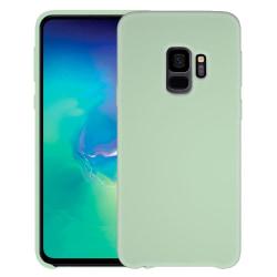 Samsung Galaxy S9 Silikonskal - Liquid Silicone Cover - Grön Grön