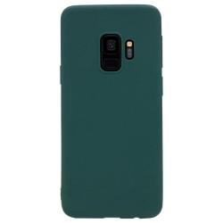 Samsung Galaxy S9 Skal Navy Green Silikonskal  Grön