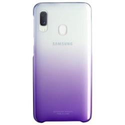 Samsung Original Galaxy A20e Gradation Cover Skal - Violet Rosa
