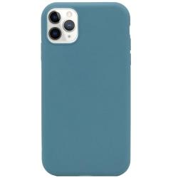 Silikonskal till iPhone 11 - Blågrå Grön