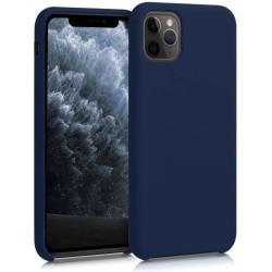 Silikonskal till iPhone 11 - Mörkblå Blå
