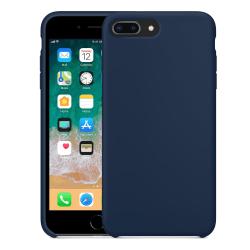 Silikonskal till iPhone 8 Plus - Mörkblå Blå