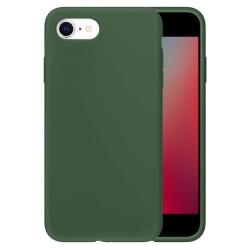 Silikonskal till iPhone SE 2020 / 8 / 7 - Army Green Grön