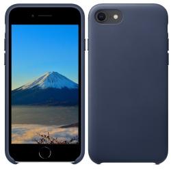Silikonskal till iPhone SE 2020 / 8 / 7 - Mörkblå Skal Blå