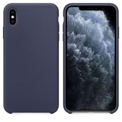 Silikonskal till iPhone XS Max Night Blue Svart
