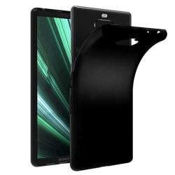 Sony Xperia 10 Silikonskal - Ultra Slim Skal Svart