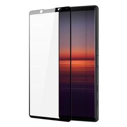 Sony Xperia 5 II Skärmskydd Heltäckande Härdat Glas Transparent