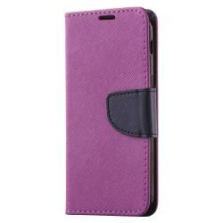 Sony Xperia XA2 Fodral Plånboksfodral - Lila Transparent