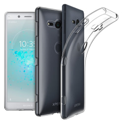 Sony Xperia XZ2 Compact Skal Ultra-Slim Transparent Transparent
