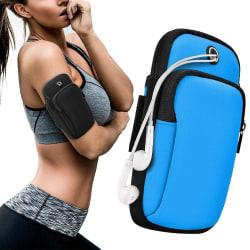 Sportarmband iPhone/Android Vattentät - Blå Blå