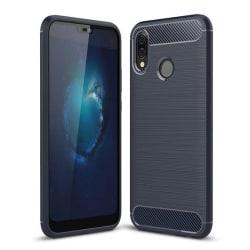Stöttåligt skal till Huawei P20 Lite - Navy Blå