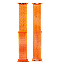 Tac™ Armband Tyg 38/40 mm Apple Watch 1/2/3/4/5/6/SE Orange