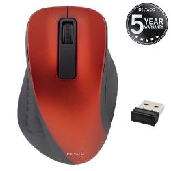 Trådlös Datormus till PC & Macbook - Ergonomisk Mus Svart