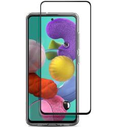 uSync® Skärmskydd Samsung Galaxy A71 Härdat Glas - Fullskärm Transparent