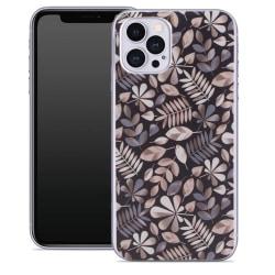 uSync™ iPhone 12 Pro Max Skal - Design Case Twig Vit