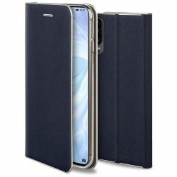 uSync™ iPhone XS Max Plånboksfodral Fodral - Navy Blue Blå