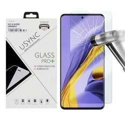 uSync™ Samsung Galaxy A51 Skärmskydd i Härdat Glas Transparent