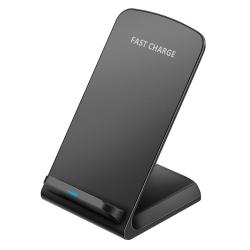 uSync™ Trådlös Laddare Stand Fast Charge iPhone/Samsung/LG 10W Svart