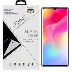 uSync™ Xiaomi Mi Note 10 Skärmskydd i Härdat Glas Transparent