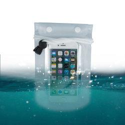 "Vattentät Mobilväska - iPhone & Android 5,5"" Transparent Transparent"