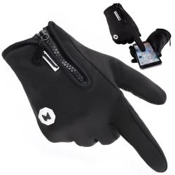 WOZINSKY Touch handskar Sport - Unisex  Svart one size