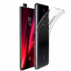 Xiaomi Mi 9T / 9T Pro Ultra-Slim Transparent TPU Skal  Svart