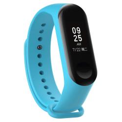 Xiaomi Mi Band 4/3 Armband - Blå Silikon Blå one size