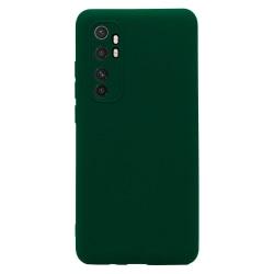 Xiaomi Mi Note 10 Lite Skal Navy Grön Silikonskal  Grön