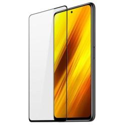 Xiaomi Poco X3 NFC Skärmskydd Heltäckande Härdat Glas Transparent