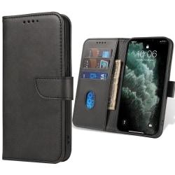 Xiaomi Redmi 9 Plånboksfodral - Svart Svart