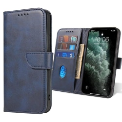 Xiaomi Redmi Note 9 Plånboksfodral - Blå Blå