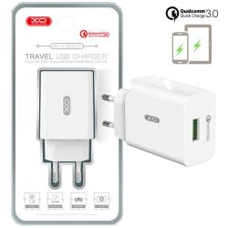 XO™ Qualcomm Quick Charge 3.0 laddare 18W Svart
