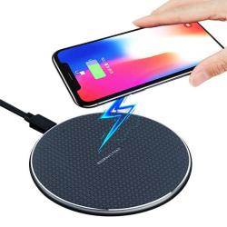 XO™ Trådlös Laddare Fast Charge iPhone/Samsung/LG 10W Svart