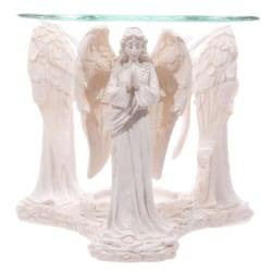 Aromalampa, Vit ängel vit