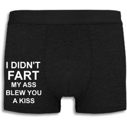 Boxershorts - I didn't fart svart S