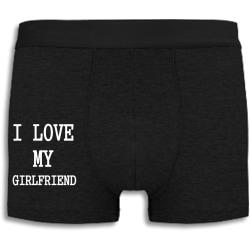 Boxershorts - I love my girlfriend svart M