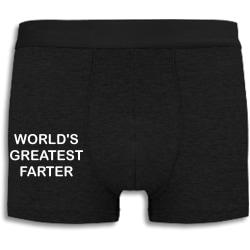 Boxershorts - World's greatest farter L