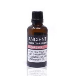 Massageolja Clear Skin, 50 ml